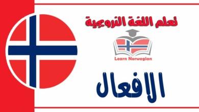 الافعال في اللغة النرويجيةدرس مهم جدا للمبتدئين